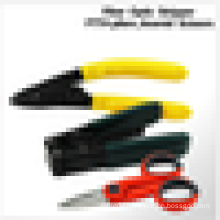Fiber Optic Stripper kit with drop Cable Striping Plier and Slip-resistant Scissors 3 sets