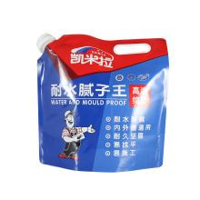 bolsa de salida de fluido laminada con papel de aluminio
