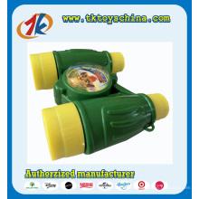 Heißer Verkauf Plastikteleskop-Binokel Spielwaren für Kinder