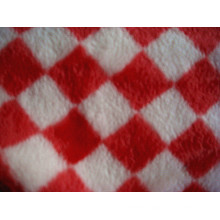 Print Flannel Double Side Fleece Knitting Fabric