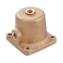 Fonderie personnalisée en laiton / cuivre / bronze avec forage et treading