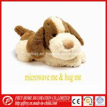 Microondas calentado peluche lavanda perro de juguete