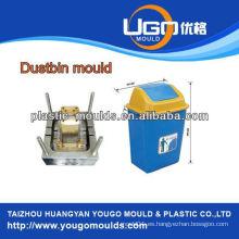 Molde de plástico del molde de la papelera de la fábrica del molde de la alta calidad Taizhou zhejiang China