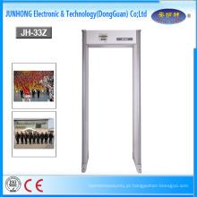 OEM 6/18 multi detector do detector de metais do quadro de porta da arcada da porta do procedimento das zonas com exposição de diodo emissor de luz