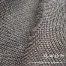 Oxford Leinenstoff 100% Polyester mit gestricktem Rücken