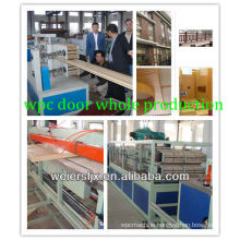 turn key project professional wpc pvc door panel production line