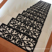 Anti Skid Waterproof Secure Staircase Step Stair Treads Traction Control Carpet Rubber Mats