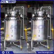 Réservoirs de concentré de stockage de bière Bright KUNBO 304 ou 316 en acier inoxydable à vendre