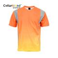 Sublimation Print Reflective T Shirt