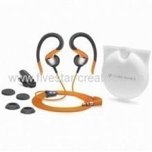 Sennheiser Omx80 Sport Ii Stereo Earclip Headphones Orange
