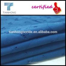 Penteados simples tecelagem tecido/bordado estilo tecido /summer vestuário tecido de algodão