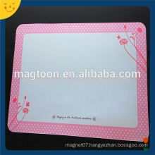 Customized reuseable magnetic whiteboard