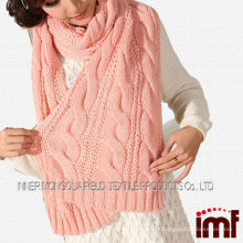 Winter Season Chunky Knit Scarf for the Cold