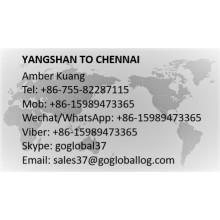 Shanghai Yangshan to India Chennai