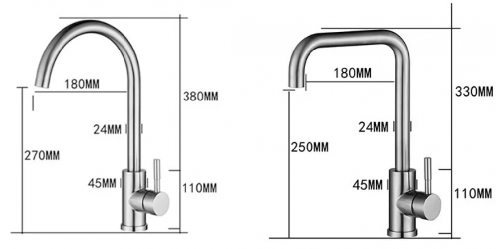 Stainless Steel Faucet 16