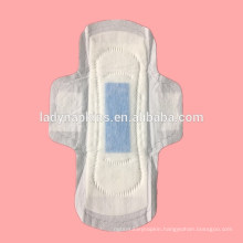 Wholesale Disposable Ultra Thin Cotton topsheet Anion Sanitary Napkins