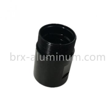Black Anodized aluminum alloy part