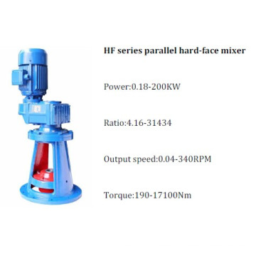 Hf Series Parallel Hard-Face Gear Mixer