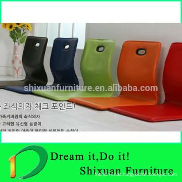 coffee red fashion chair leg floor protection