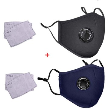 Reusable Cotton Kids Mask with Replaceable Filter Element