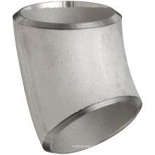 Трубная арматура для сварки под углом 45 ° из нержавеющей стали