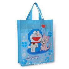 Shopping Bag, Made of Non-woven Cloth, Eco-friendly, Measures 27 x 33.5 x 9cm