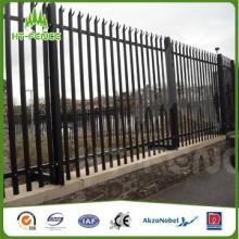 Clôture en palissade de haute sécurité / clôture en acier à haute sécurité