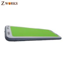 Duas camadas de nylon lidar com material eco-friendly inflável mat esteira de yoga mat