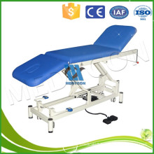 Metal medical examination couch,gynecological examination table