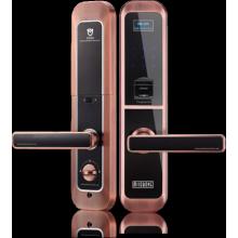 Zigbee fingerprint wireless door lock with camera