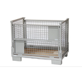Collapsible and Galvanized Wire Steel Storage Container