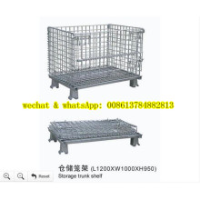 Hot-Dipped Galvanzied Welded Wire Mesh Basket