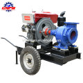 Hand push type diesel engine water pump with factory price