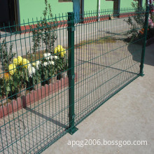 PVC Coated Garden Metal Fence (best price and high quality)