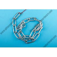 Cadena de acoplamiento de acero inoxidable de calidad con la certificación Ce (DIN5685, DIN763, DIN766,