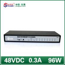 Стандартный 8-портовый гигабитный управляемый коммутатор POE