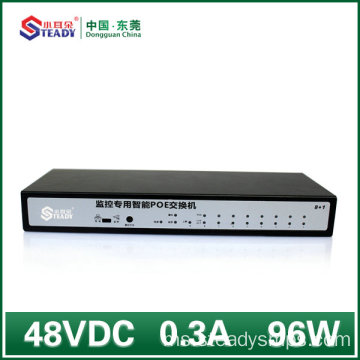 8 Port Gigabit Standard Managed POE Switch