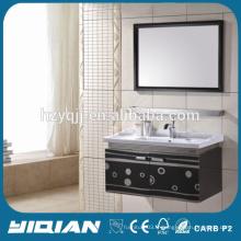 Miroir miroir Meubles en acier inoxydable Meuble de salle de bain en Chine