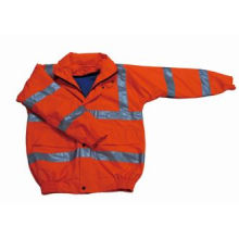 Classical Design Security Use Polyester Safety Reflective Coat