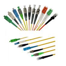 Cable de conexión de fibra óptica Sc / APC-Sc / APC