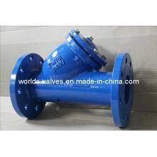 Filtro dútile do tipo Ggg40 Class125 Class125 Y do ferro do molde (GL41-10 / 16)