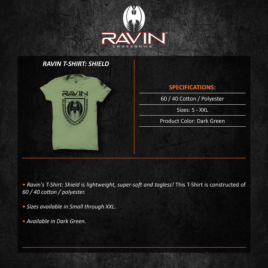 Ravin_Tshirt_Shield_Product_Description