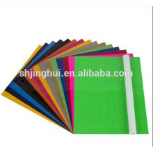 Wholesale Free Sample Clothing 12'' Sheet Transfer PU Heat Film