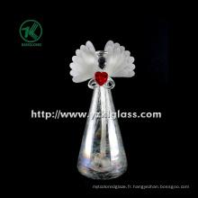 Angle de verre en coeur de maintien pour décoration intérieure par BV, SGS