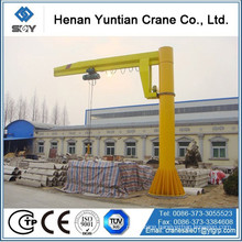 2015 new type 360 degree swing arm lift crane , pillar mounted jib crane More questions, please send message to us!