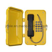 Teléfono inalámbrico resistente a la intemperie, teléfono inalámbrico de túnel, teléfonos SIP para servicio pesado