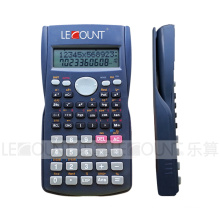 240 функций 2 линейный дисплей Научный калькулятор с чехлом на задней панели (LC750)