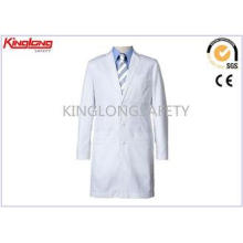 Comfortable Hospital Staff Medical White Workwear With Butt