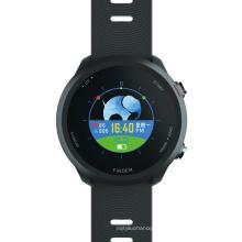 Full round screen Heart Rate Monitor Blood Pressure Gps Sport Smart Watch