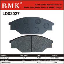 Plaquettes de frein de qualité avancée (D2027)